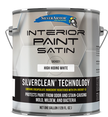 SILVERARMOR® Interior Paint - Satin