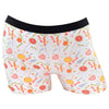 Candy Factory White Boyshort