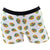 Candy Skull White Boyshort