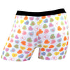 Candy Hearts White Boyshort