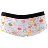 Candy Factory White Peachy Briefs