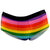 Rainbow Pride White Peachy Briefs