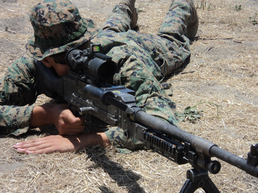 Lessons I learned with the M240 Machine Gun
