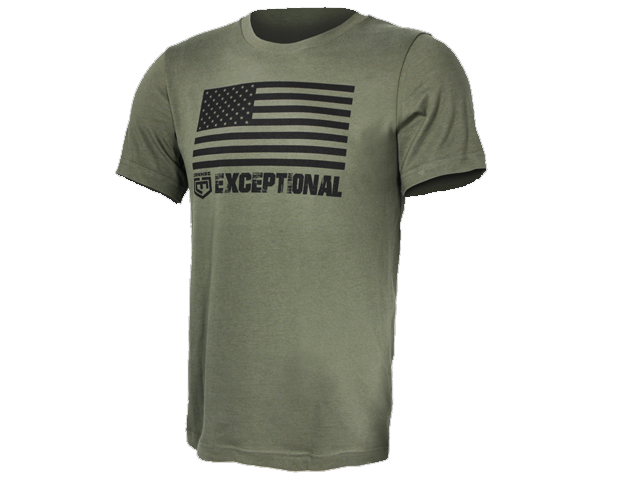 American Flag Exceptional T-Shirt