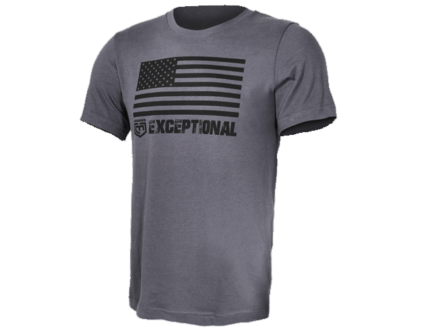 American Flag Exceptional T-Shirt (12115919046)