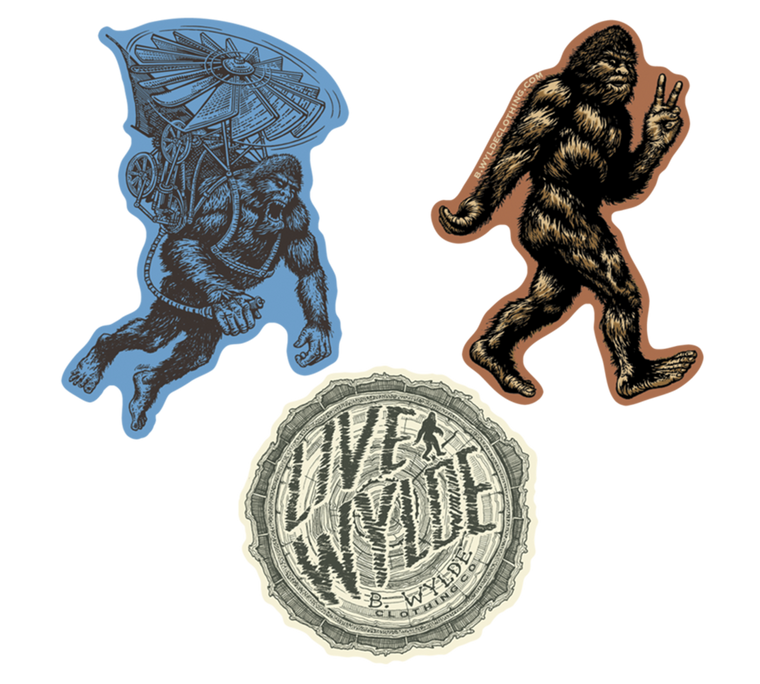 Bigfoot Sticker Pack