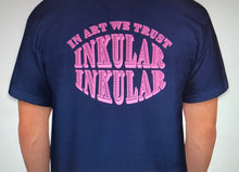 In Art We Trust: Inkular T-Shirt (Navy)