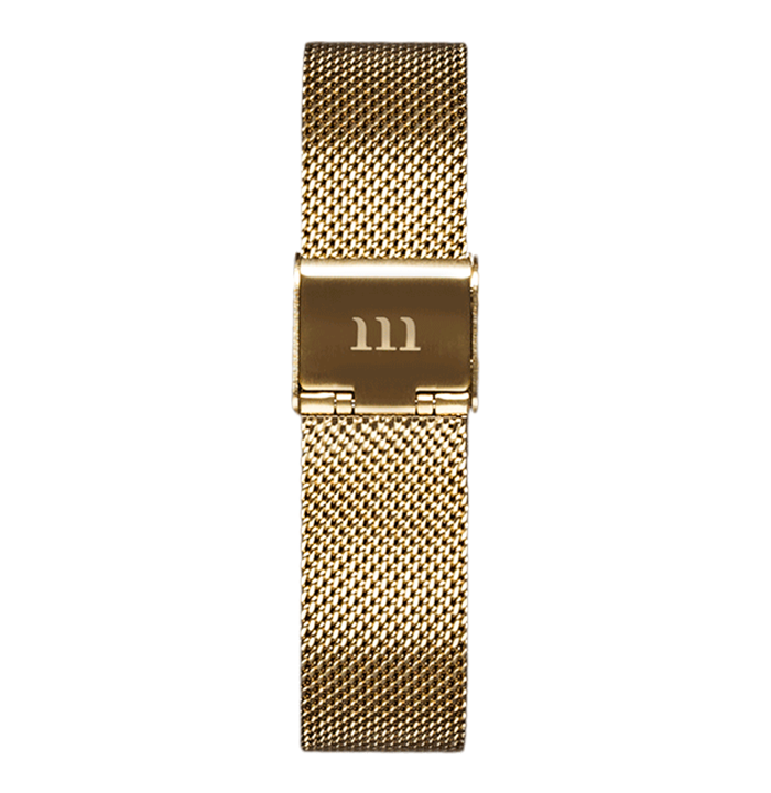 McCoy Road Women's Seven50 Gold Mesh Watch Strap