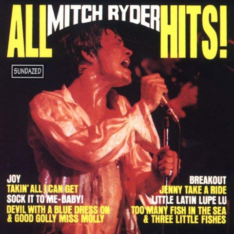 Mitch Ryder And The Detroit Wheels - All Mitch Ryder Hits
