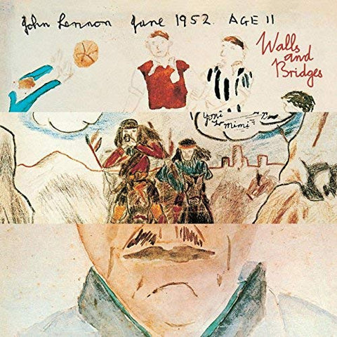 John Lennon with the Plastic Ono Nuclear Band/Little Big Horns and the Philharmanic Orchestrange - Walls And Bridges