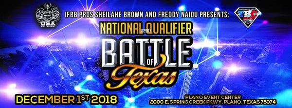 Battle Of Texas @ Plano Event Center Dec 1st