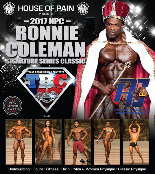 RONNIE COLEMAN CLASSIC 2017