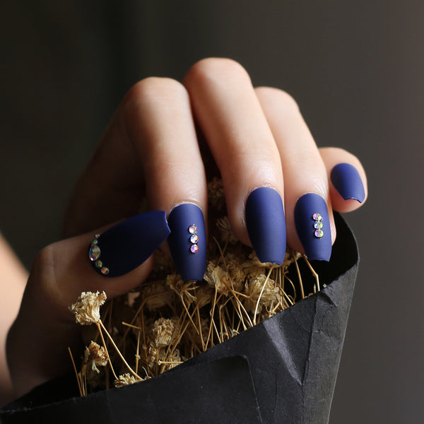 Navy Jeweled