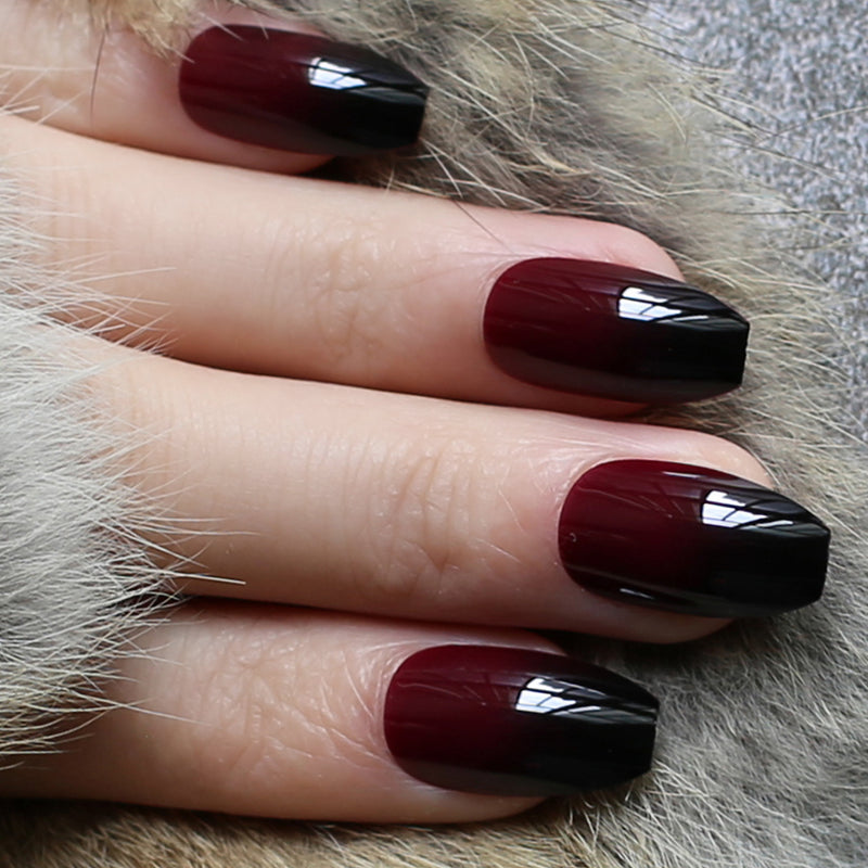 Red Gradient Glossy