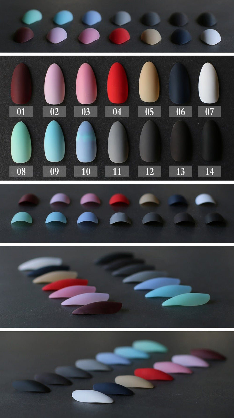 Pointed Matte
