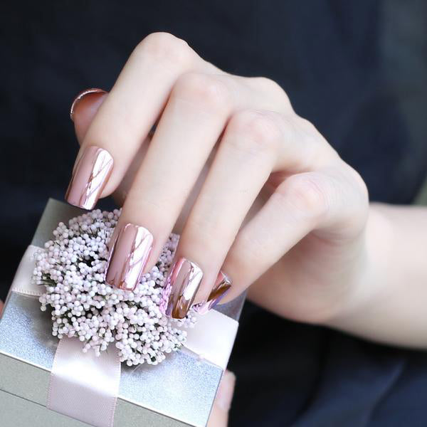 Metallic Light Pink