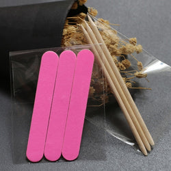 3-Pack Nail File and Wood Stick