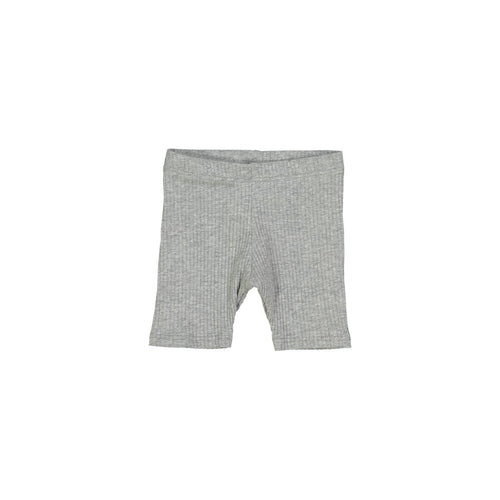 Petals & Peas Gray Ribbed Shorts