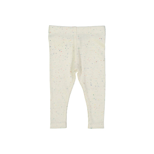 Lil Legs Colorful Speckle Ribbed Leggings