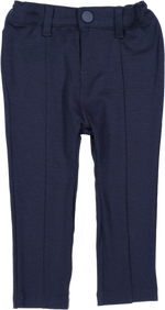 Lil Legs Navy Knit Pants