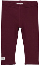 Lil Legs Plum Leggings