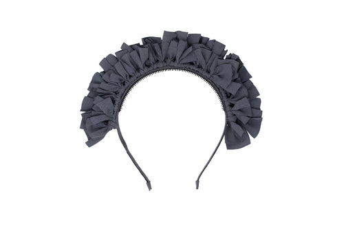 Smoke Gray Tiara Headband