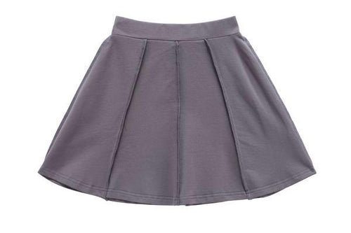 Petit Clair Heather Grey Girls Skirt