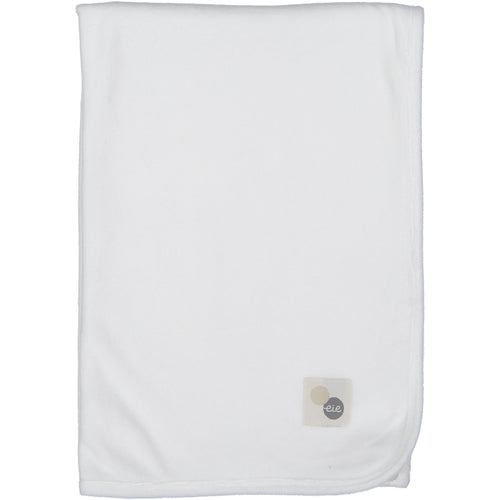 Winter White Velour Blanket By Analogie