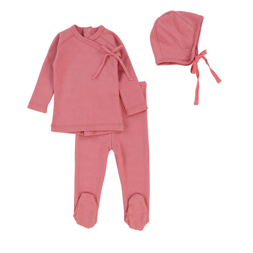 Rose Wrap 2 Pc Set with Bonnet