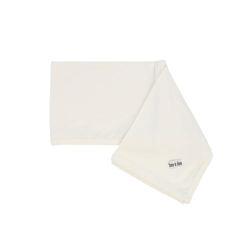 White Wrap Cotton Blanket