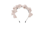 Blush Multi Bow Fuzz Headband