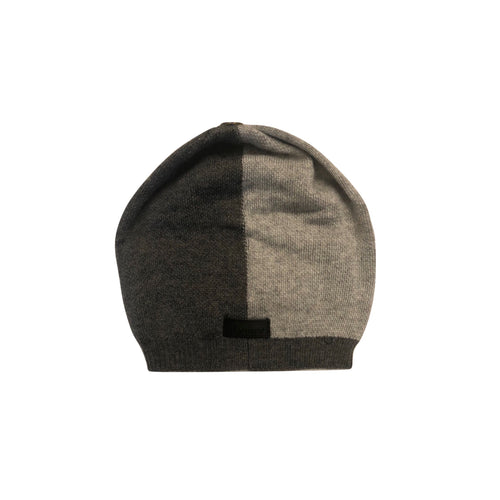Maniere Colorblock Winter Hat with Snap