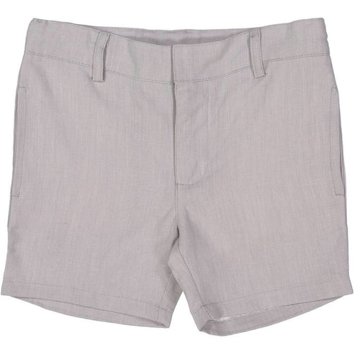 Lil Legs Grey Linen Boys Shorts