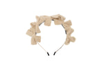 Sand Multi Bow Fuzz Headband