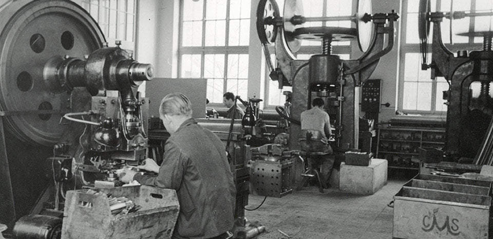 Historical Carl Mertens Factory photograph