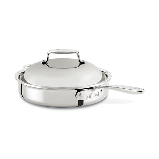 All-Clad Roasting Pans All-Clad d7 Stainless 3 Qt. Pan Roaster with Domed Lid JL-Hufford