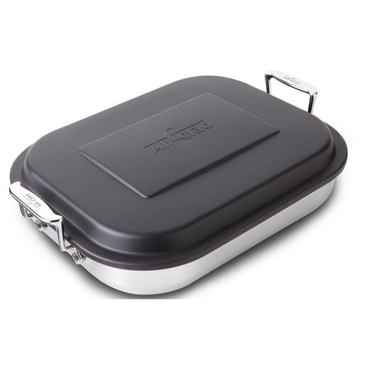 All-Clad Specialty Cookware All-Clad Stainless Lasagna Pan with Lid JL-Hufford