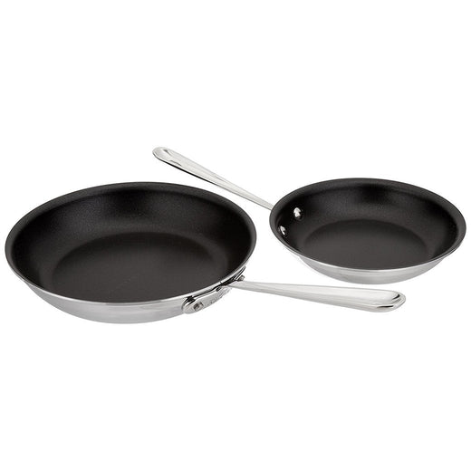 All-Clad Skillets & Frying Pans All-Clad Stainless Nonstick Fry Pan Set JL-Hufford