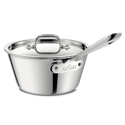 All-Clad Specialty Cookware All-Clad Stainless Windsor Pan with Lid, 2.5 qt JL-Hufford