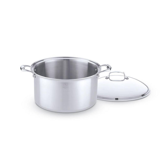 American Clad Cookware Stockpots & Soup Pots 12 Qt. with Lid American Clad 7-ply Stainless Stock Pot JL-Hufford
