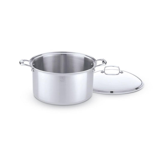 American Clad Cookware Stockpots & Soup Pots 16 Qt. with Lid American Clad 7-ply Stainless Stock Pot JL-Hufford
