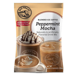 Big Train Blended Coffee Frappe Individual Big Train Blended Ice Coffee 3.5 lb - Peppermint Mocha JL-Hufford