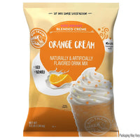 Big Train Kidz Kreamz Blended Creme, 3.5 lb Bag - Orange Cream