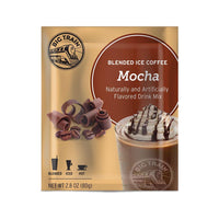 Big Train Blended Coffee Frappe Mocha Big Train Blended Ice Coffee Single Servings 25 Pack JL-Hufford