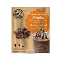 Big Train Blended Coffee Frappe No Sugar Added Mocha Big Train Blended Ice Coffee Single Servings 25 Pack JL-Hufford