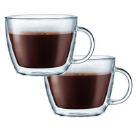 Bodum Double Walled Glassware Bodum Bistro Latte 15 oz Double Wall Glass Set of 2 JL-Hufford