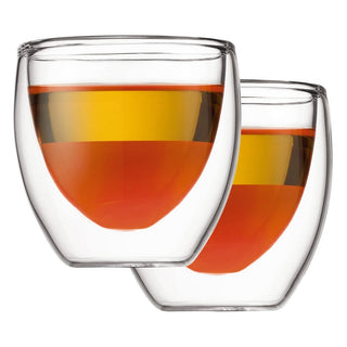 Bodum Double Walled Glassware Bodum Pavina Espresso 2 oz Glass Set of 2 JL-Hufford