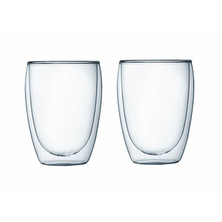 Bodum Double Walled Glassware Bodum Pavina Latte 12 oz Glass Set of 2 JL-Hufford