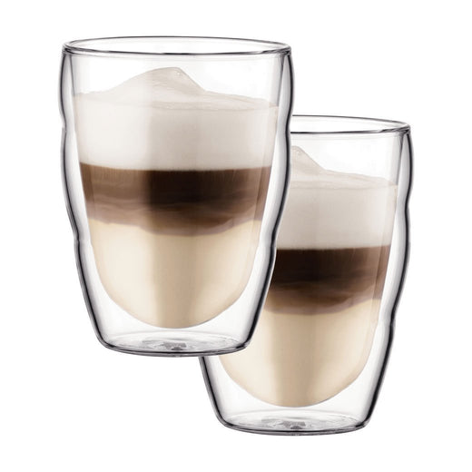 Bodum Double Walled Glassware Bodum Pilatus 8 oz Glass Set of 2 JL-Hufford
