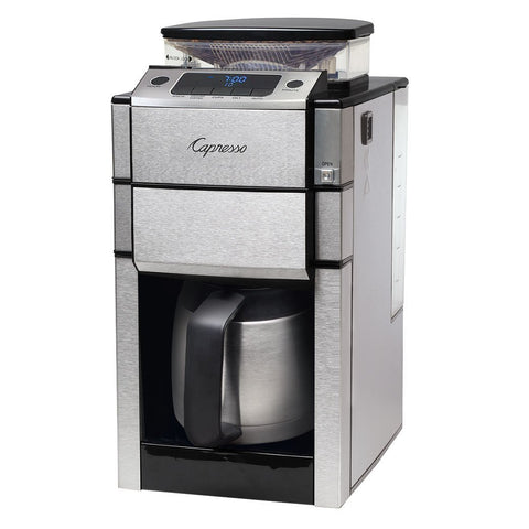Capresso CoffeeTEAM PRO Plus Therm Coffee Maker with Grinder